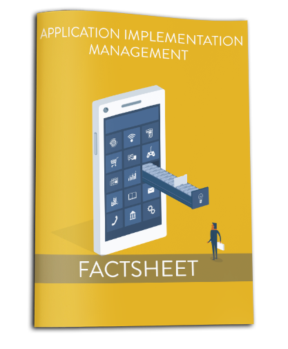 Factsheet Application Implementation Management