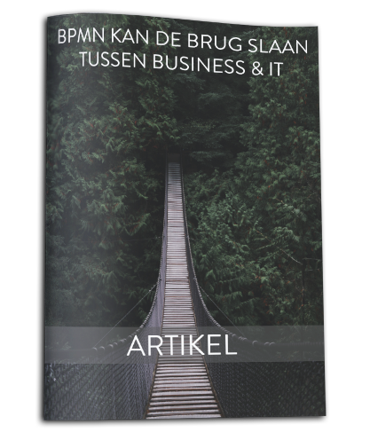 BPMN kan de brug slaan tussen Business en IT