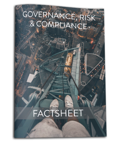 Factsheet Governance, Risk & Compliance