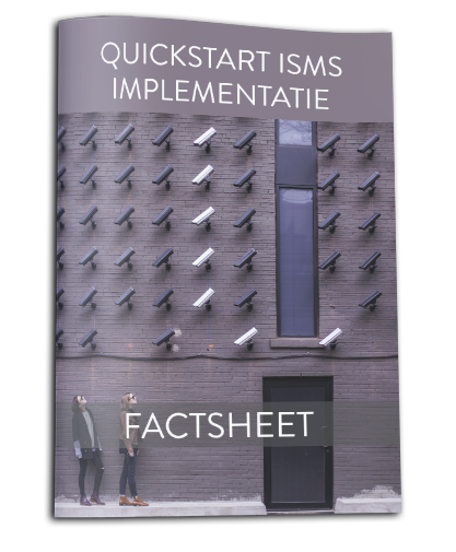 Factsheet Quickstart ISMS implementatie