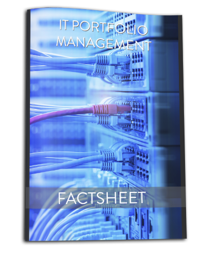 Factsheet IT Portfolio Management