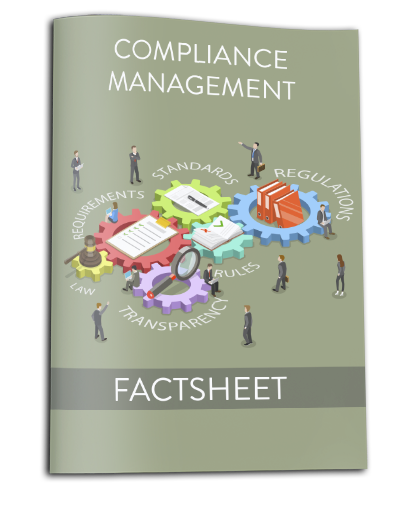 Factsheet compliance management